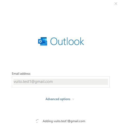 vui mỗi ngày - cài đặt gmail lên outlook