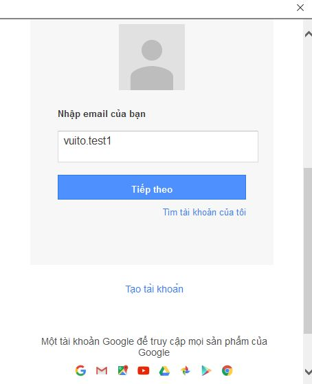 vui mỗi ngày nhập địa chỉ gmail