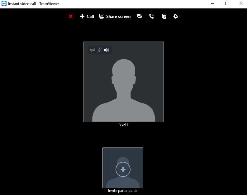 vui mỗi ngày - cài đặt teamviewer 2020 - gọi video call