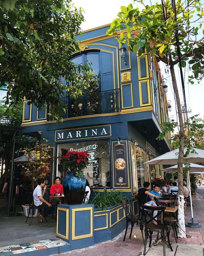 Top 10 quán cafe siêu đẹp ở Quy Nhơn - marina royal