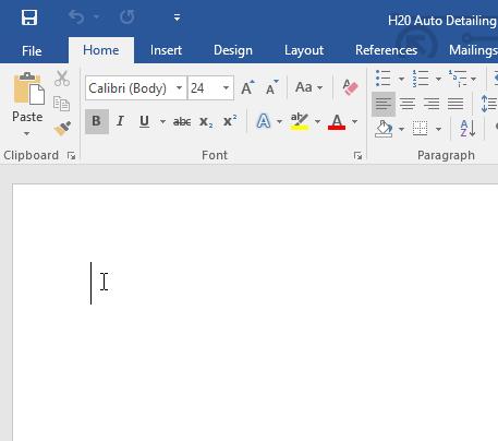Các thao tác xử lý văn bản điểm chèn ký tự