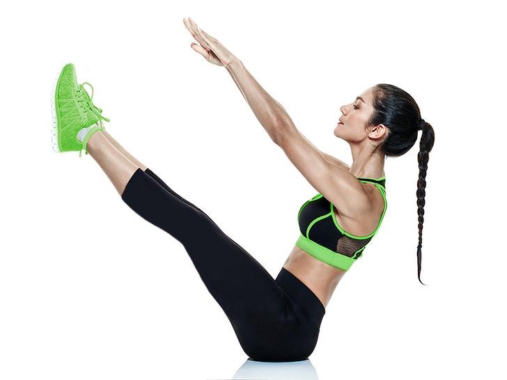 7 bài tập thể dục - tư thế yoga chữ V