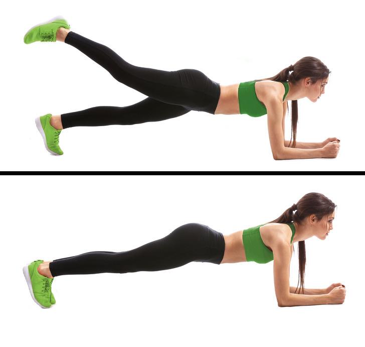 7 bài tập thể dục - plank