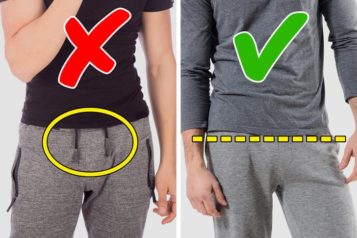 13 sai lầm khi mặc quần áo - Cách sử dụng áo thun với quần bó sát