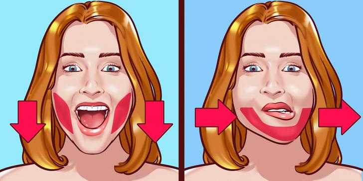 Bài tập giảm chất béo cho khuôn mặt