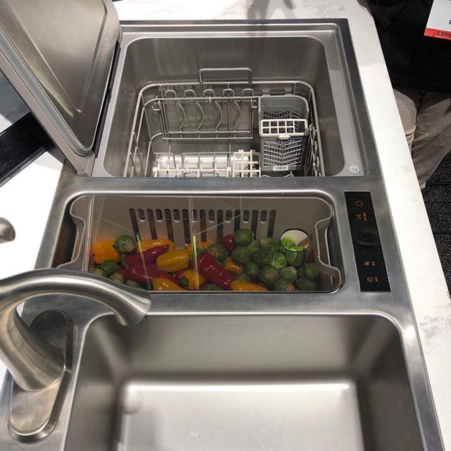mẫu nhà bếp đẹp - bồn rửa