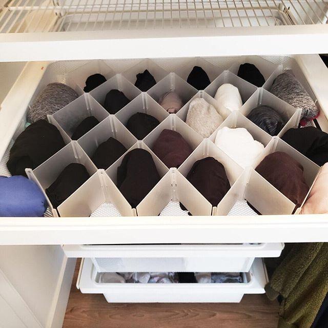 17 mẹo dọn dẹp nhà cửa - Ngăn kéo đồ lót đa năng