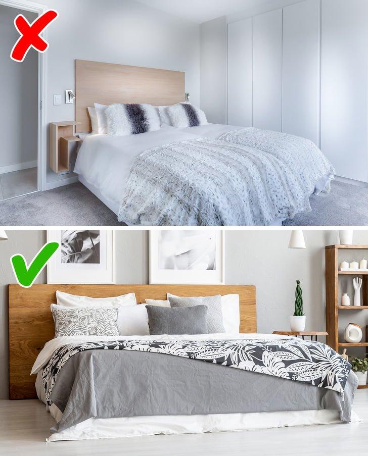 10 quy tắc trang trí thiết kế nội thất Phòng ngủ được thiết kế đa dạng