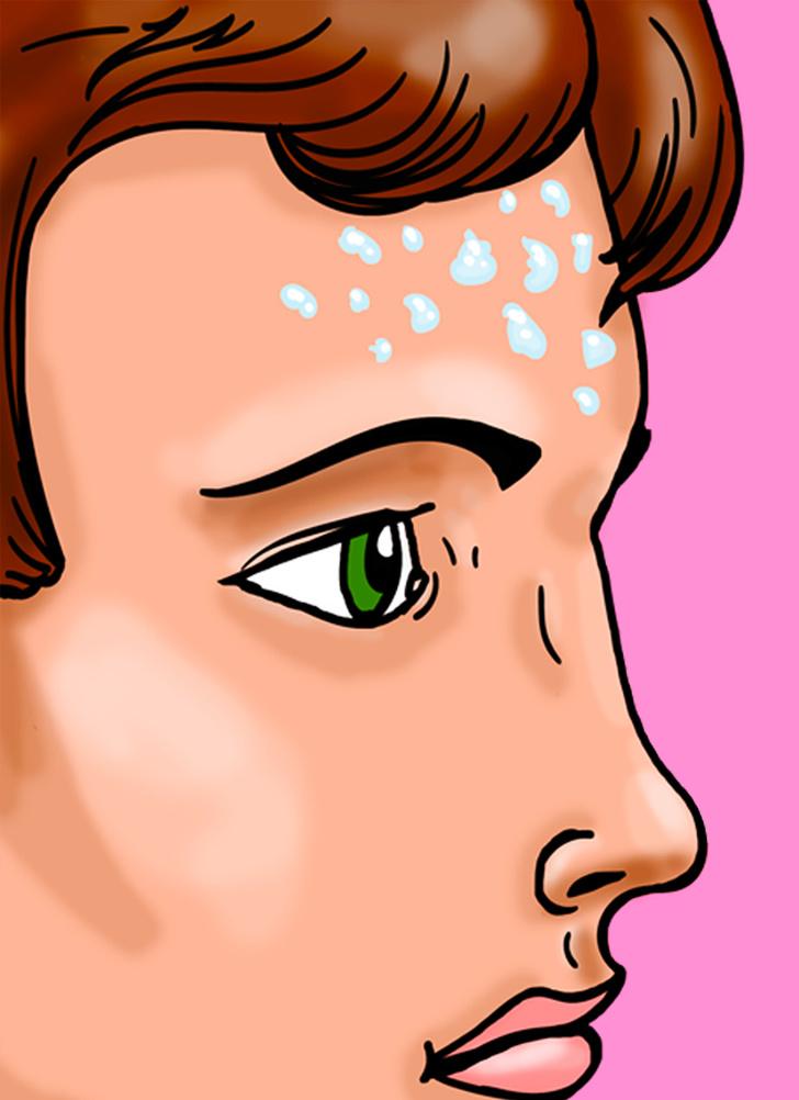 chăm sóc sức khỏe -  Đổ nhiều mồ hôi khi hormone cơ thể hoạt động kém