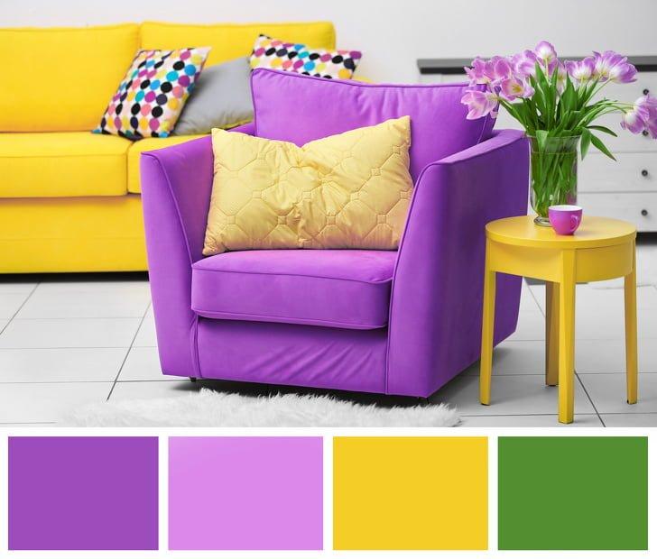 Lựa chọn màu phù hợp khi trang trí một không gian