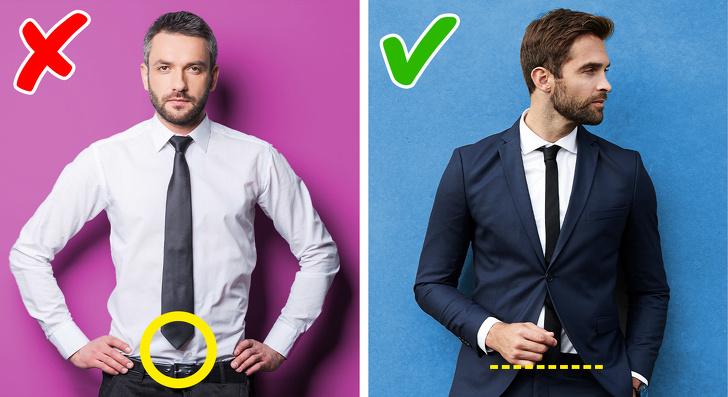 Sử dụng đeo cà vạt