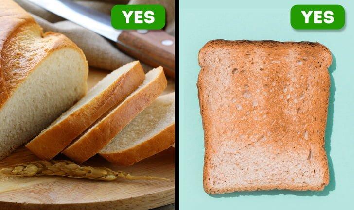 10 mẹo hay để phát hiện sản phẩm kém chất lượng Bánh mì