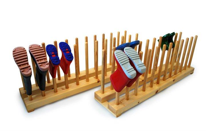 Kệ giày làm từ gỗ