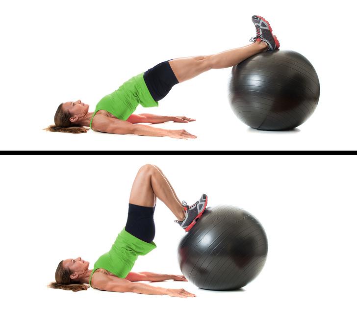 7 bài tập thể dục - bài tập với bóng đàn hồi