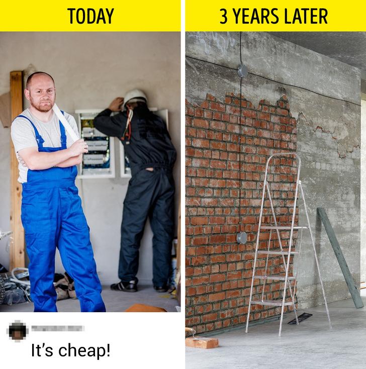 Hậu quả cho sự tiết kiệm không đúng cách