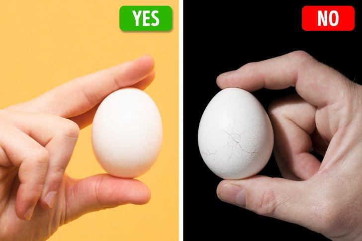 10 mẹo hay để phát hiện sản phẩm kém chất lượng trứng gà