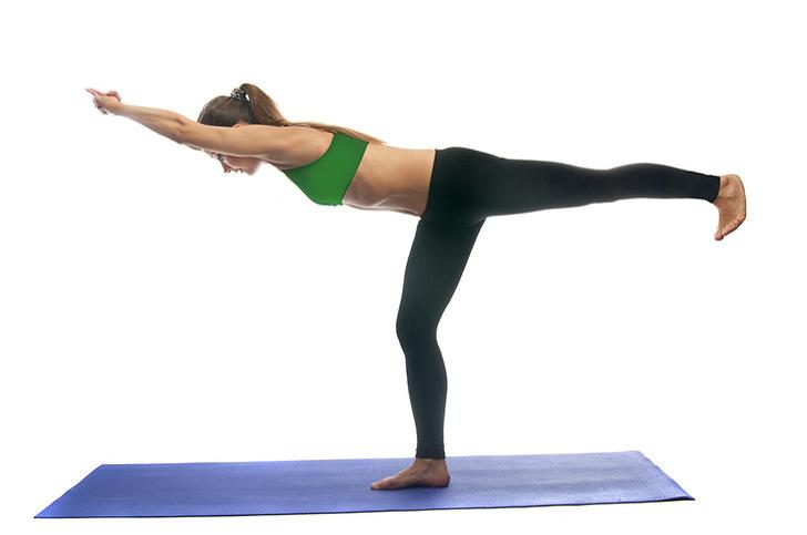 7 bài tập thể dục - tư thế yoga chiến binh