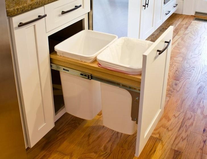mẫu nhà bếp đẹp - tủ kếp hợp