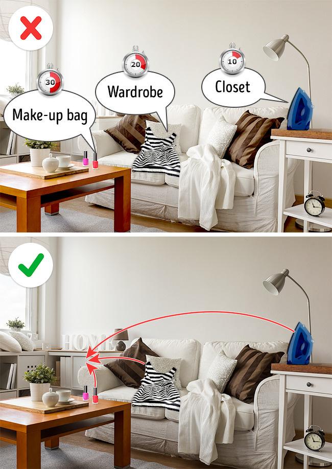 bí quyết giúp nhà cửa siêu sạch