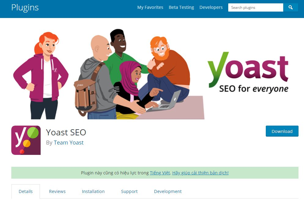 tối ưu SEO onpage cho bài viết wordpress bằng công cụ Yoast