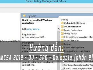 MCSA 2012 OU GPO Delegate p2 ft