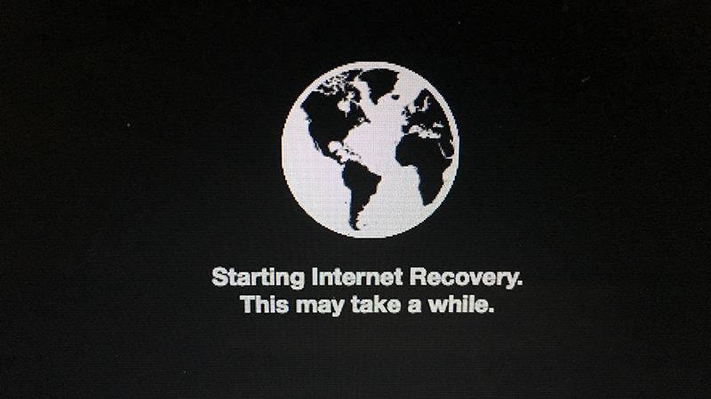 chế độ Internet Recovery