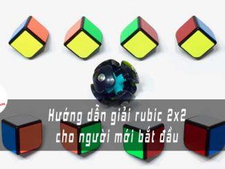 huong dan giai rubic 2x2 cho nguoi moi bat dau ft