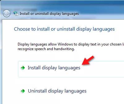Cách thay đổi ngôn ngữ trên máy tính windows 7 - cửa sổ cài đặt ngôn ngữ mới