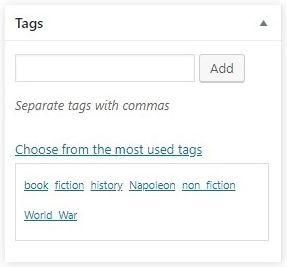 WordPress taxonomy 03