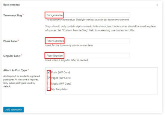 WordPress taxonomy 06