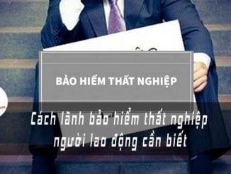cach lanh bao hiem that nghiep ft